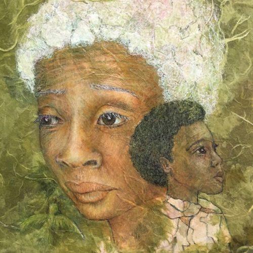 Backward Glances art by Jeannie Hope Gibson