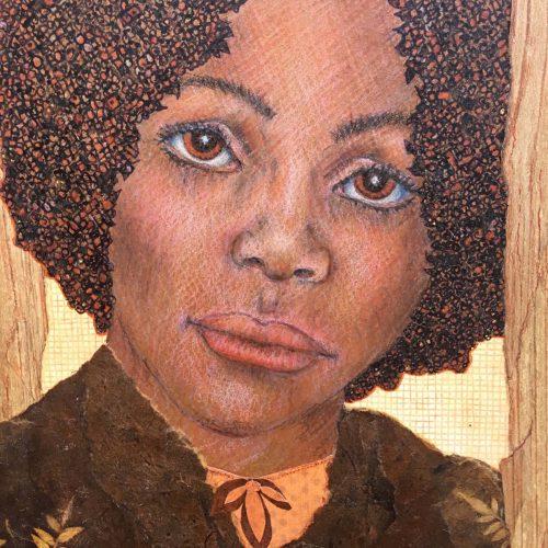 Michaela, art by Jeannie Hope Gibson